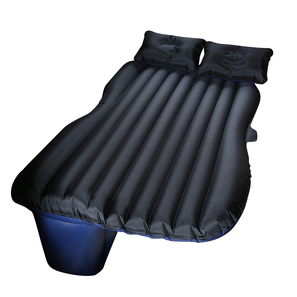 Car Travel Inflatable Mattress Bed Travelling Camping Back Seat Oxford Fabric Extended Mattress and Two Pillows(Black) betos car air mattress travel bed auto back seat cover inflatable mattress air bed good quality inflatable car bed for camping