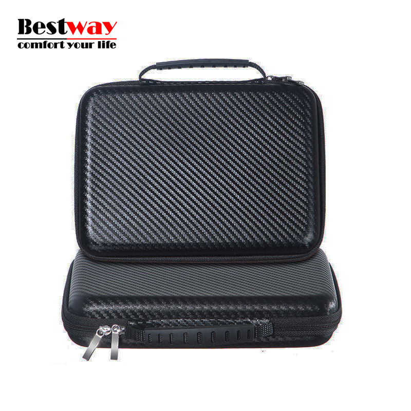 Waterproof HDD Box Funda Para Disco Duro Externo Large Double Layer Cable Organizer Bag For font
