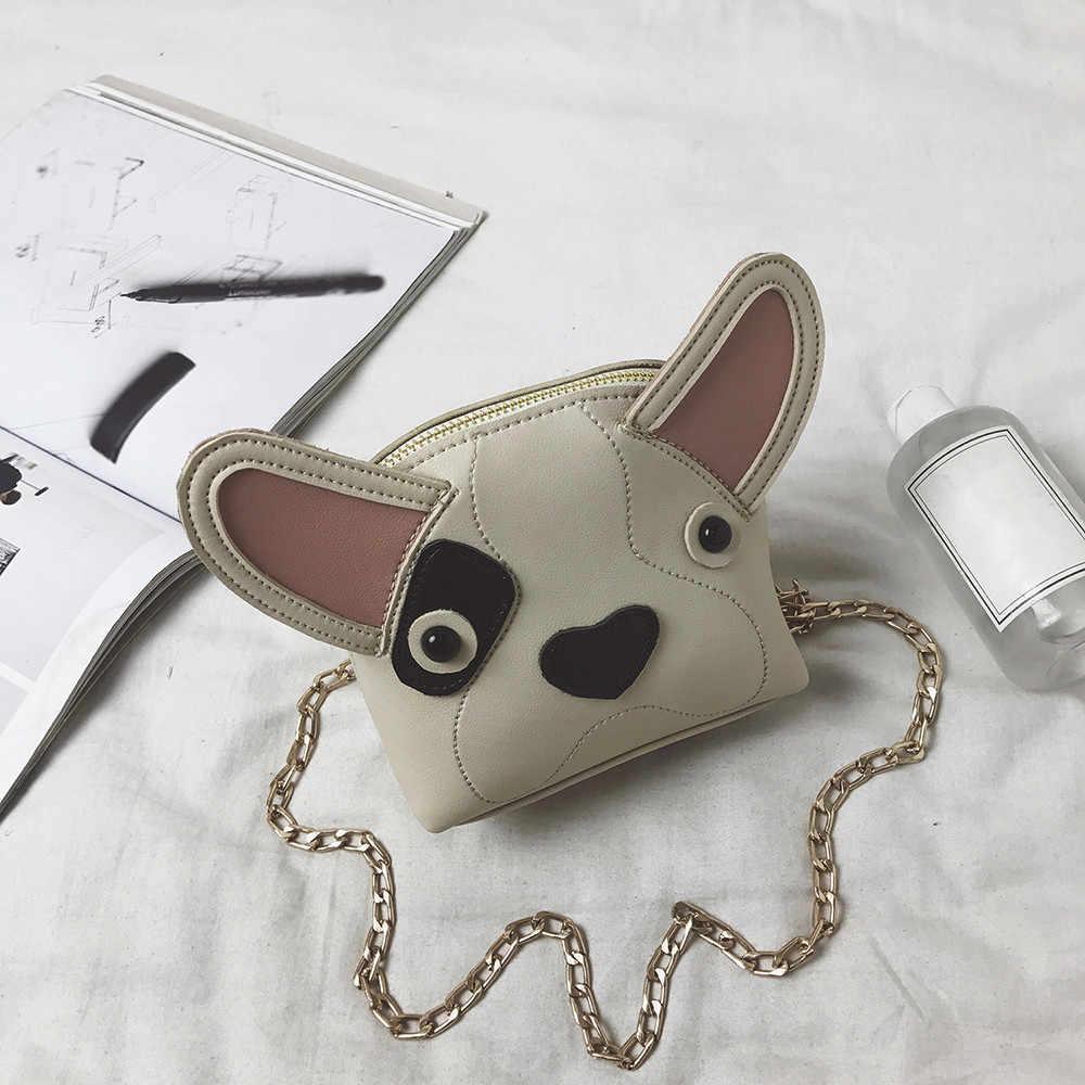 ... Aelicy Cute Dog Shape Children Shoulder Bag Fashion Girl Shoulder  Messenger Bags Baby PU Leather Ladies ... 66d1c1f2d0d45
