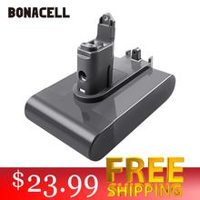 bonacell 21.6V 2200mAh Li-ion Battery for Dyson V6 DC58 DC59 DC61 DC62 DC74 SV09 SV07 SV03 965874-02 Vacuum Cleaner Battery L30 цена 2017