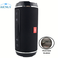 2018 Wireless Column Bluetooth 4.1 Speakers Waterproof Portable Outdoors 3d Stereo Boombox Bass spearker for laptop iphone xiomi