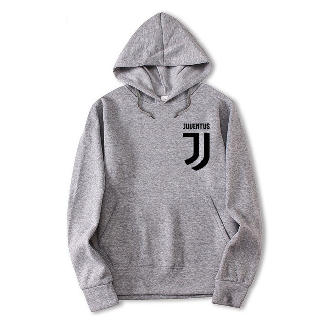 2018 Trendy Juventus Hooded Mens Hoodies and Sweatshirts Oversized for Autumn with Hip Hop Winter Hoodies Men Brand 3