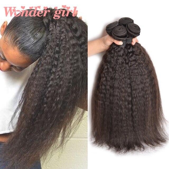 Grau 8A cabelo Virgem Malaio 4 Pacotes Cor Natural Remy Feixes de cabelo Menina Maravilha Loja Cabelo Venda Quente Barato Humano cabelo