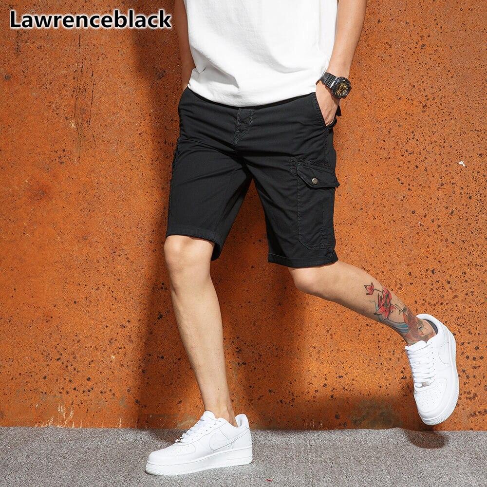 6635d87919 Cheap Lawrenceblack pantalones cortos de los hombres 2018 Venta de verano  Casual de las Bermudas pantalones