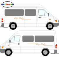 New 2x LifeStyle Graphics One For Each Side Camper Van Graphics Motor Home Vinyl Graphics Kit