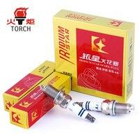 4pcs Lot TORCH Iridium Platinum Car Spark Plugs Car Candle A2 For Audi A4L A6L A5