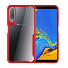 Hybrid Airbag ShockProof Clear Case for Samsung Galaxy A7 2018 A750 Protective Hard PC+Soft TPU Cover