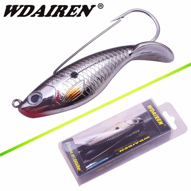 WDAIREN 1 ชิ้นประมงเย้ายวนใจ 8 เซนติเมตร 21.4 กรัมป้องกันหญ้าตกปลา Wobbler เหยื่อประดิษฐ์เหยื่อเลเซอร์ร่างกายเหมือนจริงปลา WD-527