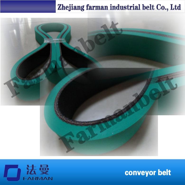 4.0mm Folder Gluer Belt/tube Wider Belt/box Making Belt Good Quality Belt Power Transmission Belt Nylon Base Flat Belt belt bb155