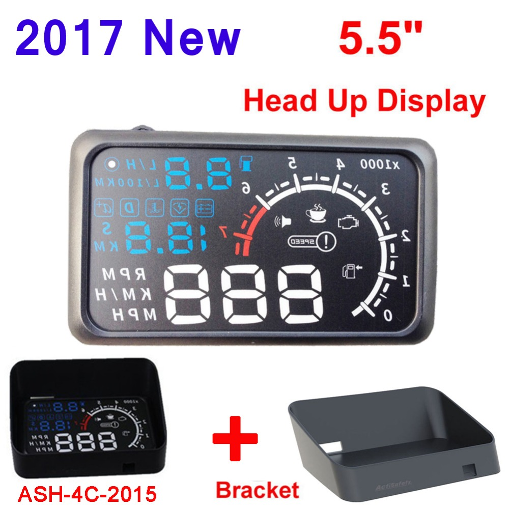 screen auto car hud obd ii port head up display km. Black Bedroom Furniture Sets. Home Design Ideas