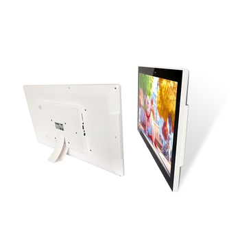 21.5 inch android all in one tablet pc wall mount video player capacitive multi-