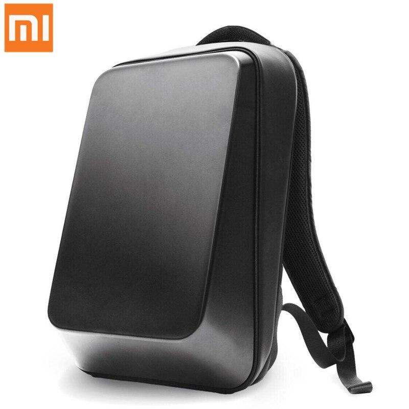 Xiaomi Mijia BEABORN Black Shoulder Bag Backpack Bag Waterproof Leisure Sports Chest Pack PU Bags For Mens Women Travel