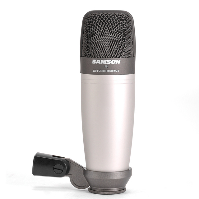 Original SAMSON C01 Condenser Microphone for recording vocals acoustic instruments and for use as and overhead