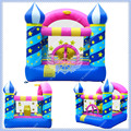 Atacado Mini Castelo Bouncy Inflável, Estrelas infláveis Castelo inflável para As Crianças, o Ventilador de Ar Livre Incluído