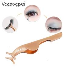 Vopregezi Faux Cils Brucelles Lash Curler Faux Eye Lash Applicator Extension de Cils Bigoudi Nipper Clip Beauté Maquillage Outil