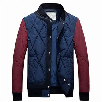 2018 New Mens Down Coats Polyester Winter Jackets Thick Casual Outerwear Windproof Handsome Warm Regular Parkas and Coats Hooded