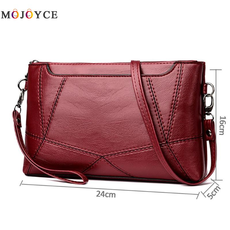 Casual Women Messenger Bag Female PU Leather Shoulder Crossbody Bag Office Ladies Designer Handbag Bolsa Feminina 6