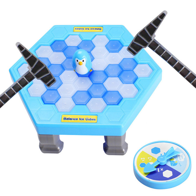 Ice Breaking Table Penguin Trap Toys For Children Activate Funny Penguin Trap Entertainment Interactive Toy For Fun Family Game