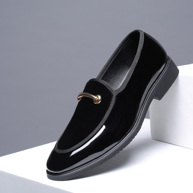 Formal Shoes Men's Shoes 2019 Newest Fashion Men Formal Mariage Wedding Party Shoes High Quality Pointed Toe Business Shoes Men Loafers Oxford Shoes