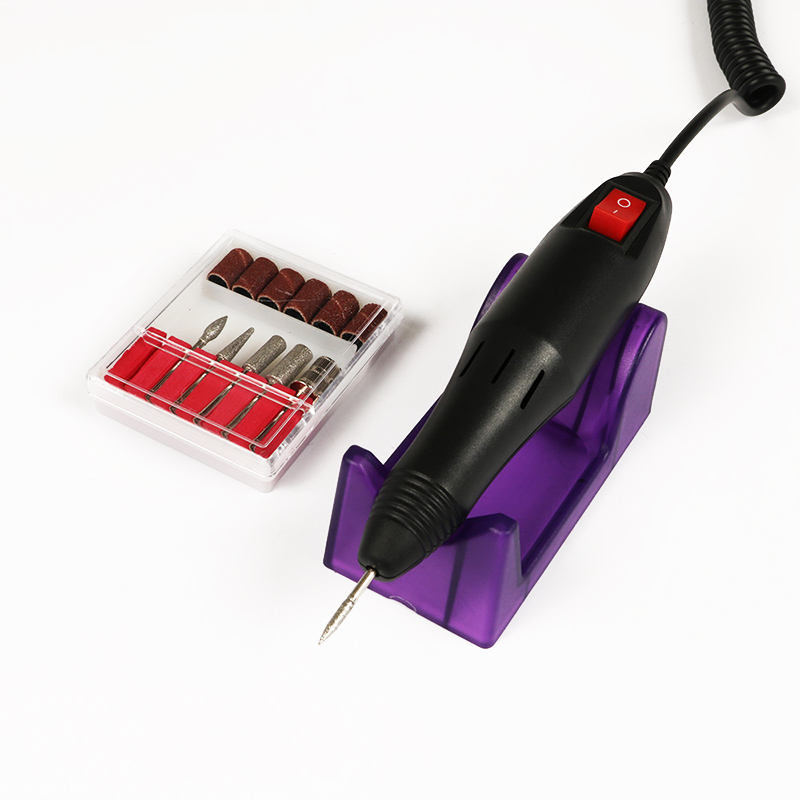 Professional Electric Acrylic Nail Drill File Machine Kit Bits Manicure EU US Plug MH88 in Sets Kits from Beauty Health