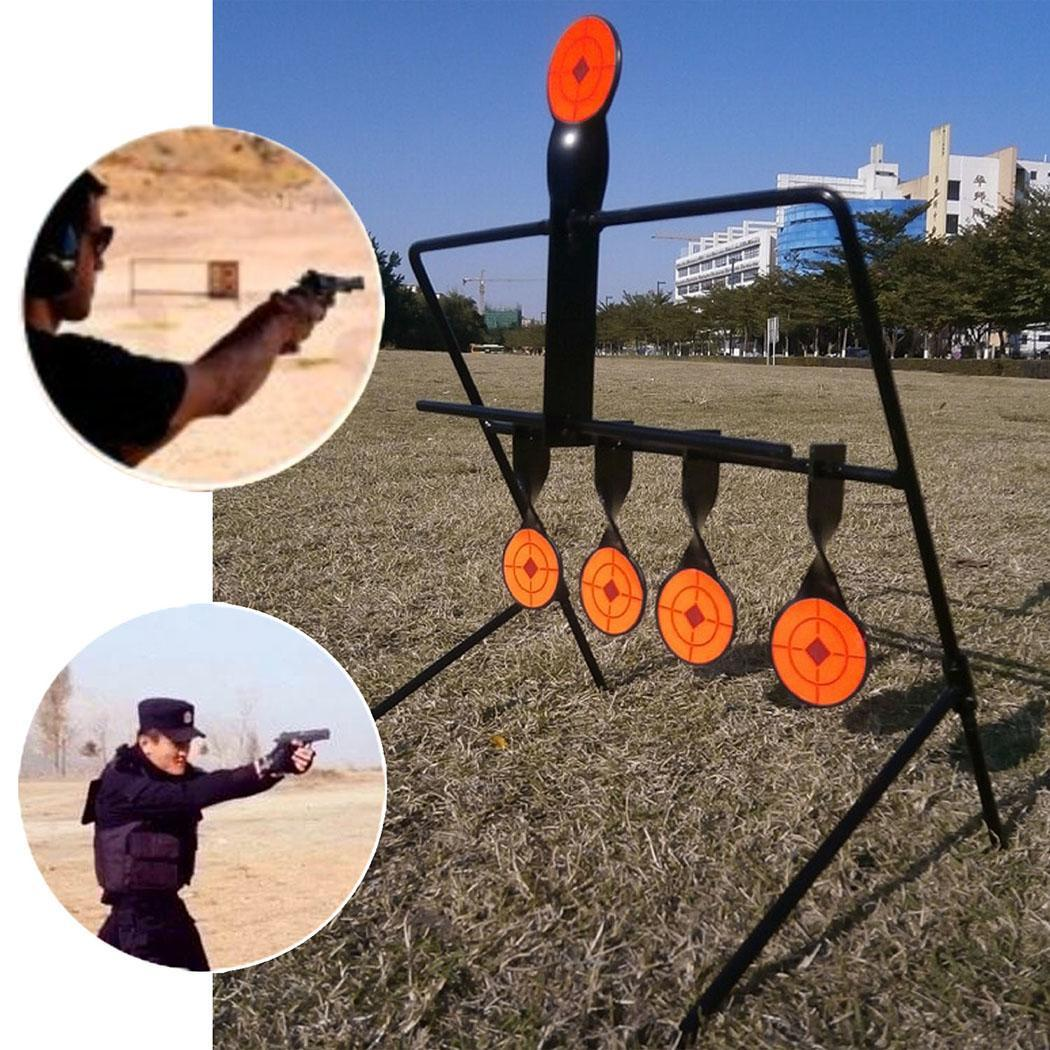 Self Resetting Spinning Air Gun Rifle Shooting Metal Target Set 660g 5 As The Picture Shown Targets