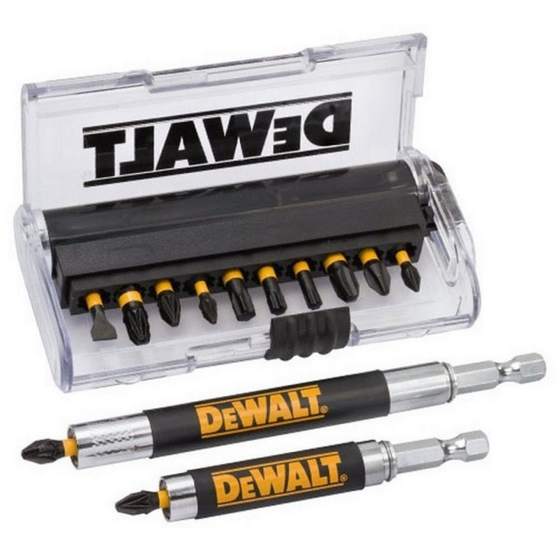 DEWALT DT70512T QZ juego de 14 Pieces for screwing with 2 Guides telescopic magnetizer magnetic|Wrench| |  - title=