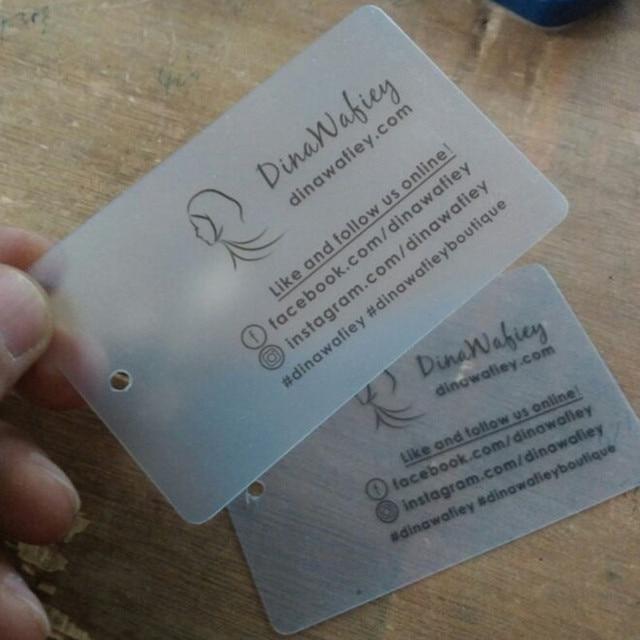 Custom pvc name tags transparent frosted garment hang tag business custom pvc name tags transparent frosted garment hang tag business card 54 mm 85 mm colourmoves