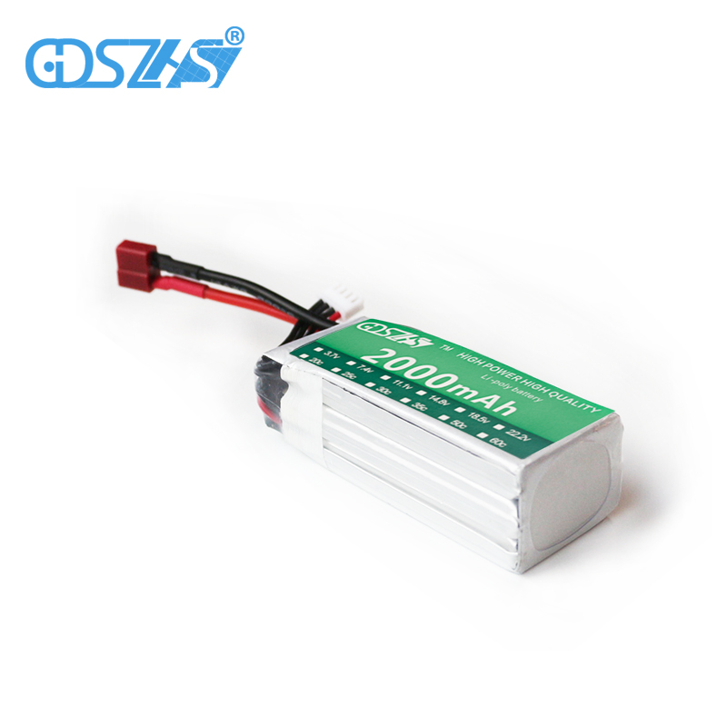 GDSZHS Rechargeable 3S Lipo Battery 11.1V 2000mAh 25C-30C For FPV RC Helicopter Car Boat Drone Quadcopter