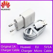 Для оригинального 5v1a ЕС Зарядное устройство адаптер 1a микрокабель для передачи данных voor honor 7x 3x 4a 4c 4x g7 p7 p6 5c 6a 5x6 6c 6x p6 p7 p8 g9