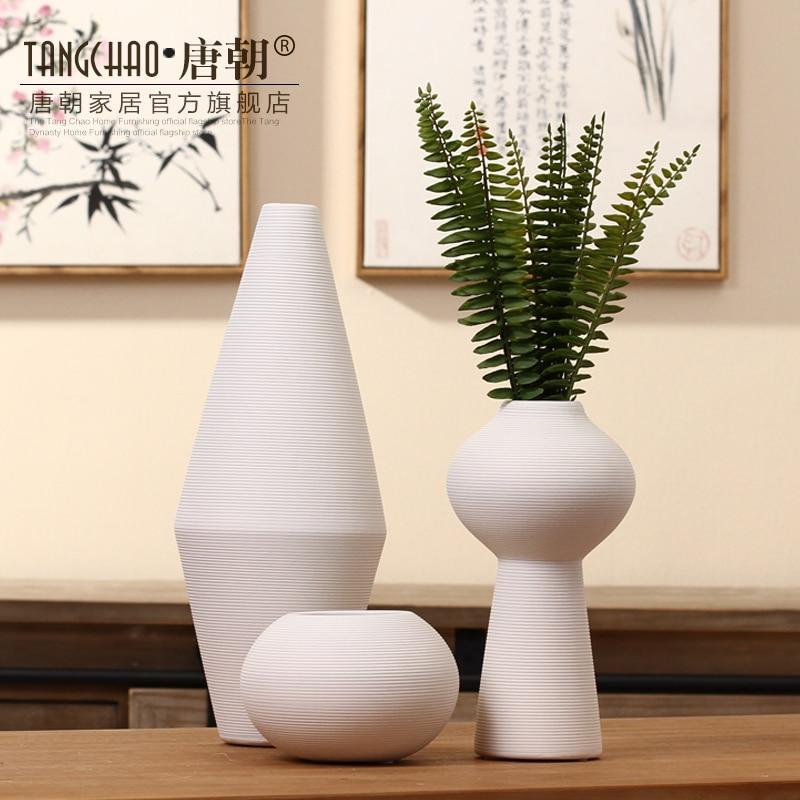 ceramica club decorazione soggiorno vaso di ceramica bianco ... - Soprammobili Moderni Soggiorno