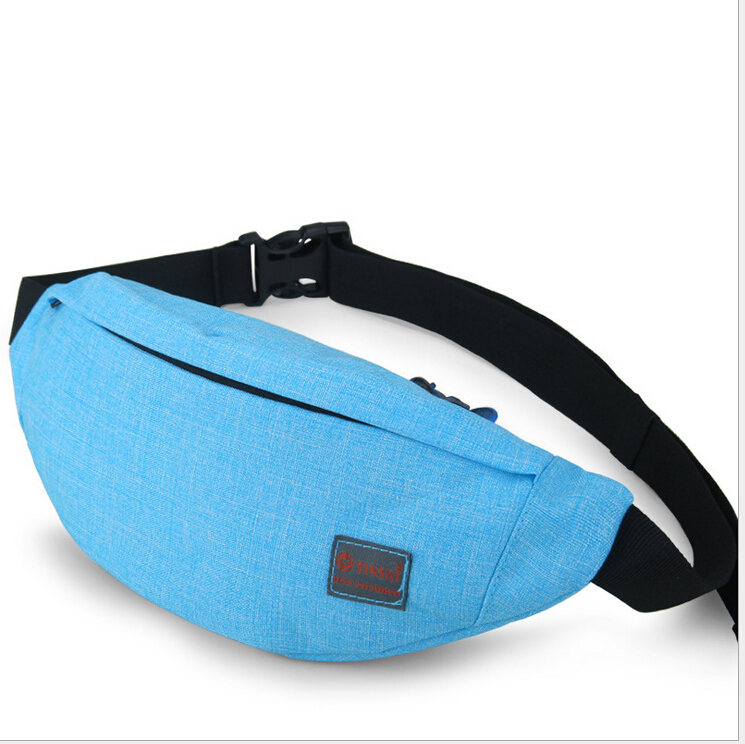 Women Mens Waist Bag Fanny Pack Nylon Belt Bags Small Purse Phone Pouch Waist Packs Chest Bag Pochete Waist Pack Bag For Women in Waist Packs from Luggage Bags