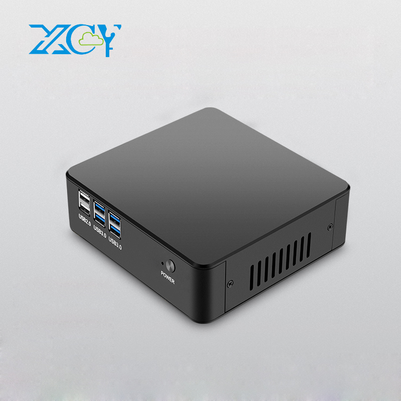 XCY Mini PC Intel Core i5 4200U 4200Y Dual Core Small Desktop PC Support Windows Linux HDMI VGA Wireless WiFi TV BOX NUC 10pcs zgemma star i55 support satip iptv box bcm7362 dual core mainchipset 2000 dmips cpu linux enigma 2 hdmi connection