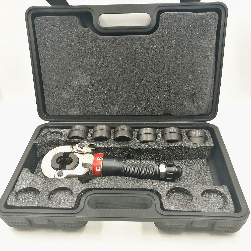 Outil de sertissage de tuyau hydraulique de GC-1632H outils de plomberie outil de raccordement de tuyau PEX 16-32 cm 60KNOutil de sertissage de tuyau hydraulique de GC-1632H outils de plomberie outil de raccordement de tuyau PEX 16-32 cm 60KN