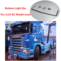 Tamiya Scania Truck Bottom LED LIGHT BAR For TAMIYA 1/14 RC Toys SCANIA R470 R620 56323 Remote Control Tractor Trailer Car Parts