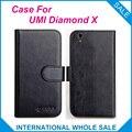¡ Caliente! 2017 umi diamond x case, 6 Colores de Alta Calidad De Cuero Original Exclusiva 100% conveniente teléfono Cubierta de La bolsa + Tracking