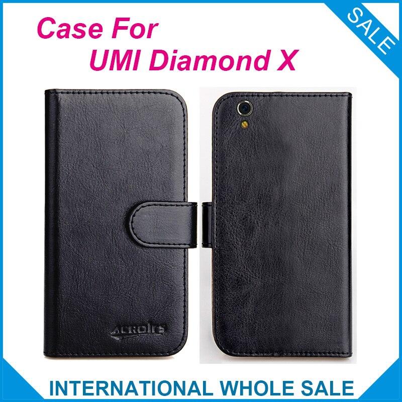 Vroče! Kovček 2017 Diamond X UMI, 6 barv izvirno usnjeno - Dodatki in nadomestni deli za mobilne telefone