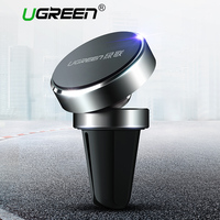 Ugreen Universal Car Phone Holder Magnetic Air Vent Mount Stand 360 Rotation Mobile Phone Holder For