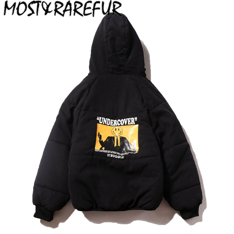 Rarefur Invernale Divertente La Hip Cappotti Giacca Vento E Parte  Streetwear Di Maggior A Spessore Modo Uomini Stampa BB7wzrtq 3c247cc25c6