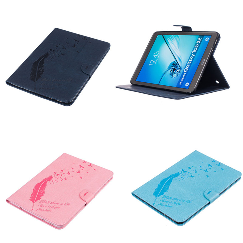 BF Luxury Funda Tablet Case For Samsung Galaxy Tab S2 9.7 SM-T810 T815C T819C T813 Cover Cases PU Leather Flip Book Stand