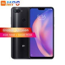 Глобальная версия Xiaomi Mi 8 Lite 4 Гб 64 мобильный телефон Snapdragon 660 Octa Core 24MP фронтальная камера 6,26 дюймов 19:9 полный экран