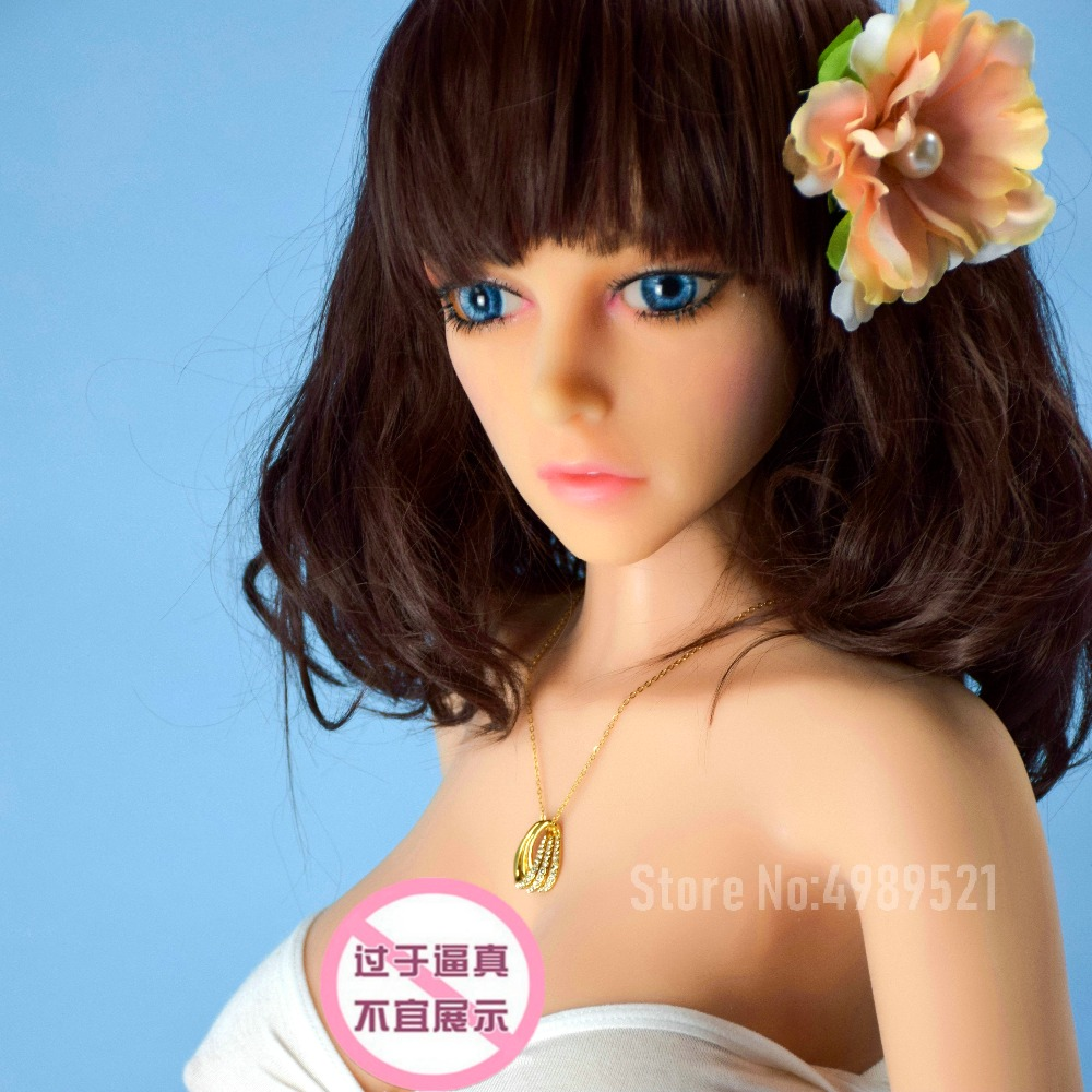 132cm real silicone sex dolls skeleton Japanese adult lifelike anime oral full vagina pussy big breast for man sex shop in Sex Dolls from Beauty Health