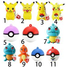 Pokemon Pikachu USB stick Flash Pen Drive 8GB 16GB 32GB 64GB Keychain