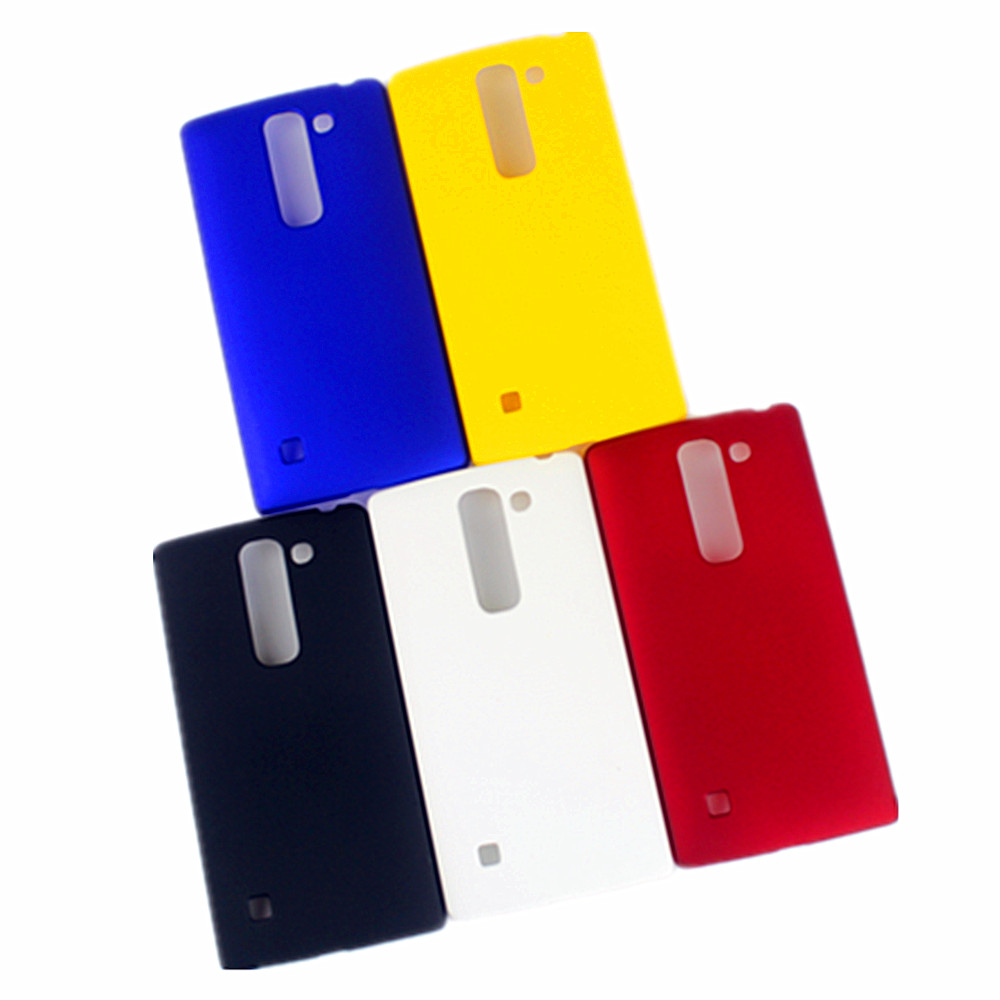 Rubber Plastic Hard Ultrathin Frosted Shield Matte Case For LG Spirit 4G LTE / Escape 2 H420 H440 H422 C70 Cover Shell Bags