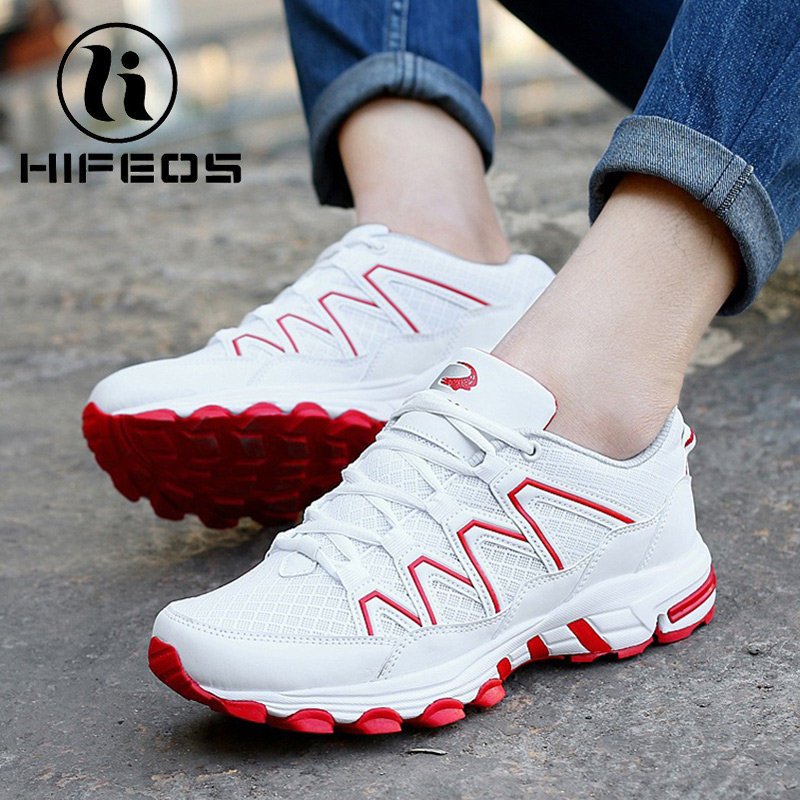 HIFEOS couple lady women men's mesh breathable outdoor hiking shoes winter non-slip wear-resistant boots trekking sneakers M048 peak sport authent men basketball shoes wear resistant non slip athletic sneakers medium cut breathable outdoor ankle boots