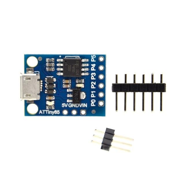 10 PCS ATTINY85 Módulo placa de desenvolvimento para Arduino Digispark kickstarter Micro usb
