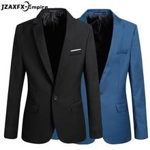Männer Blazer 2017 Neue Ankunft Casual Blazer Männer Mode Marke Geschäfts Slim Fit Jacke Anzüge Blazer Männliche Mantel