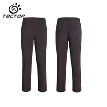 Tectop Outdoor Fleece Warm Softshell Pants Women Winter Hiking Camping Fleece Pants Men Woman Breathable Sports Pants Softshell