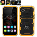 """IP68 ultra thin Slim Waterproof phone Shockproof 4G LTE W9 MTK6753 8 Octa Core 6"""" phone Rugged Smartphone Android 1920x1080 FHD"""