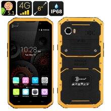"""IP68 Delgado ultra fino teléfono Impermeable A Prueba de Golpes 4G LTE W9 MTK6753 8 Octa Core 6 """"teléfono Smartphone Reforzado Android 1920×1080 FHD"""
