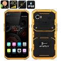 "Kenxinda W9 IP68 Delgado ultra fino teléfono Móvil A Prueba de Choques Impermeable 4G LTE MTK6753 8 Octa Core 6 ""Android Smartphone Reforzado"